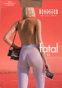 Wolford - Fatal 15 packaging, by Newton